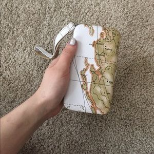 Cute map wallet